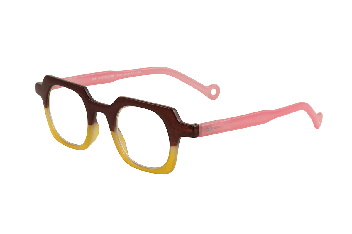 NOVEDAD - K29 BROWN YELLOW PINK