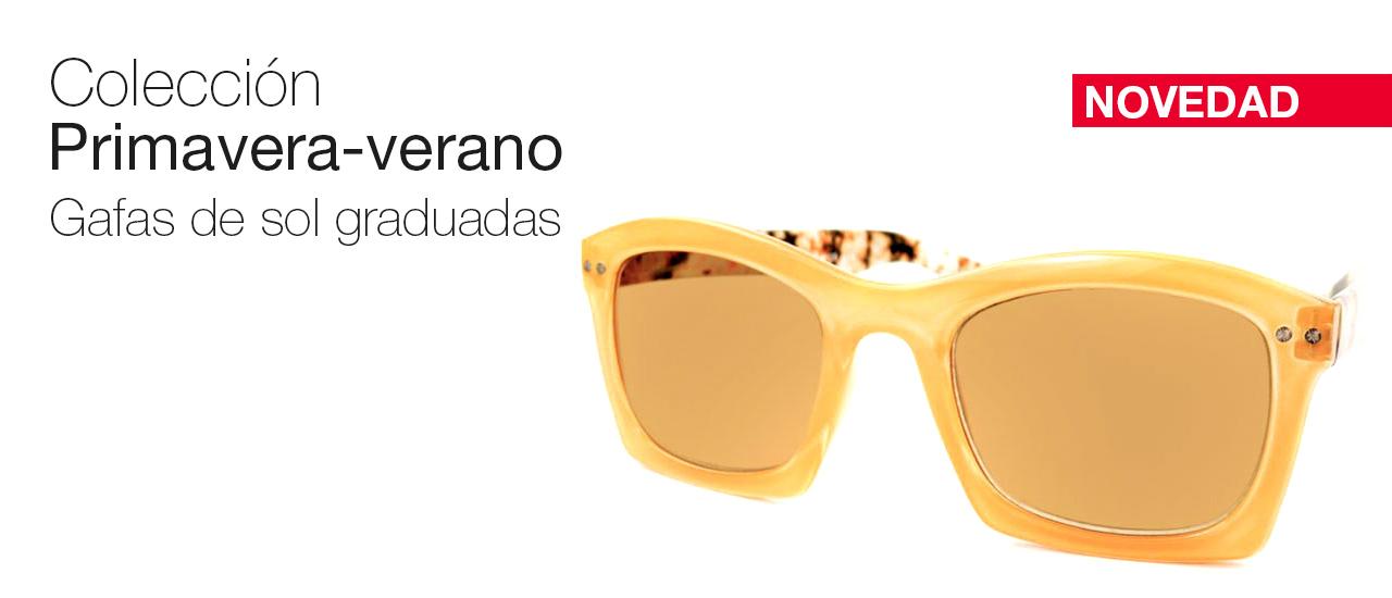 Colección primavera verano gafas sol graduadas